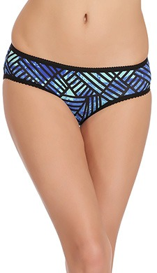 Cotton Low Waist Printed Bikini Panty - 53072