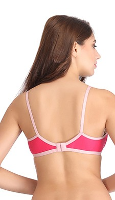 Cotton Rich Non-Wired Full Cup T-shirt Bra