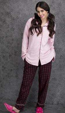 Cotton Rich Printed Top & Pyjama Set