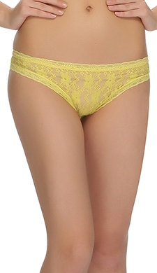 Lacy Panty In Yellow