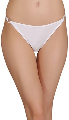 Low Waist Cotton Thong