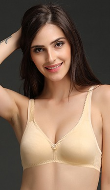 Non-Padded Non-Wired Plus Size Bra