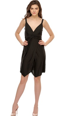 Designer Nightdress In Sexy Black