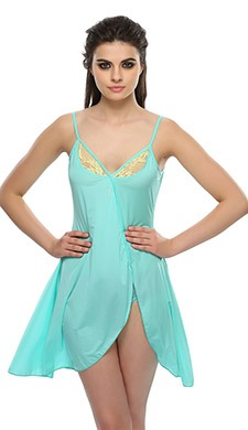 Babydoll With Tulip Hemline