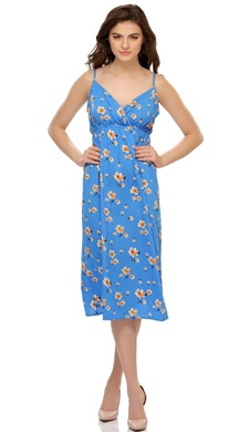 Floral Print Lovely Beach Dress