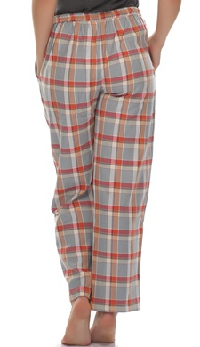 Cotts Wool Pyjamas In Plaid