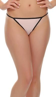 Light Pink Bikini With Sexy Back