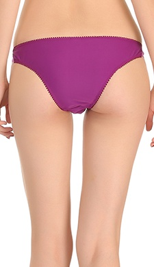 Playful Bikini In Dual Purple