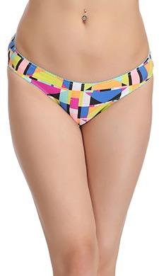 Cotton Printed Low Waist Bikini Panty - 52301
