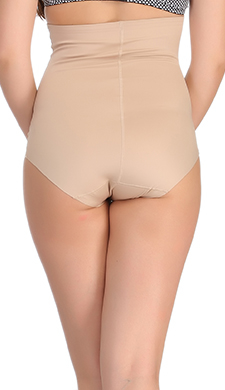 Seamless Tummy Tucker In Skin With Stitch Free Belt