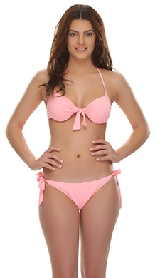 SEXY Peach 2 PC Knotted SWIM WEAR