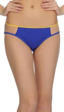 Strappy Blue Bikini Panty