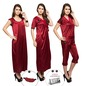 9 Pcs Maroon Set