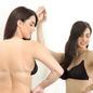 Bra with Detachable Transparent Back & Shoulder Straps