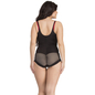 Body Suit In Black With Detachable Straps _4