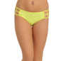 Bond Girl Panty in Fluorescent Yellow