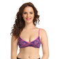 Cotton Non-Padded Wirefree Full Cup Bra - Pink