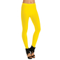 Comfy Cotton Legging In Yellow