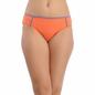 Cotton Bikini In Orange With Mid Waist Coverage