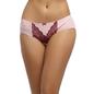 Cotton Bikini With High Waist Coverage - Pink