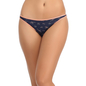 Cotton Bikini With Low Waist Coverage - Blue