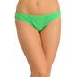 Cotton Bikini With Mid Waist Coverage - Green