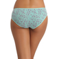 Cotton Bikini With Mid Waist Coverage - Green