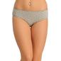 Cotton Bikini With Mid Waist Coverage - Grey