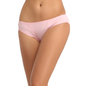 Cotton Bikini With Mid Waist Coverage - Pink
