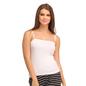 Cotton Camisole With Detachable Straps - White