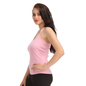 Cotton Camisole With Halter Neck - Pink