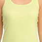 Cotton Camisole With Racer Back - Green