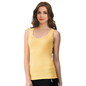 Cotton Camisole With Racer Back - Yellow