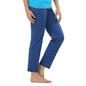 Cotton Full Length Pyjama - Blue