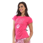 Cotton Graphic T-Shirt - Pink