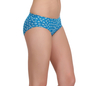 Cotton High Waist Panty - Turquoise