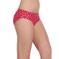 Cotton High Waist Panty - Hot Pink