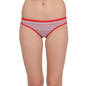 Cotton Mid Waist Panty - Red