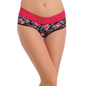 Cotton High Waisted, Tummy Smoothening Hipster - Pink
