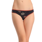 Cotton Low Waist Bikini - Black
