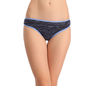 Cotton Low Waist Bikini - Blue