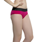 Cotton Spandex Hipster In Pink