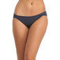 Cotton Spandex Bikini With Mid Waist Coverage - Blue