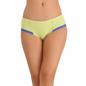 Cotton High Waisted Bikini - Light Green