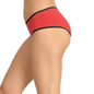 Cotton Spandex Hipster In Red With Contrast String Band