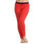 Cotton Full Length Yoga Pants - Coral