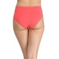 Cotton Mid Waist Bikini - Orange