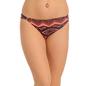 Cotton Mid Waist Bikini With Trimmed Elastic - Orange