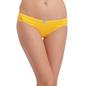 Cotton Mid Waist Bikini - Yellow