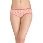 Cotton Mid Waist Printed Bikini